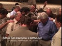 Pastors praying over Pastor Bill 11.14.13